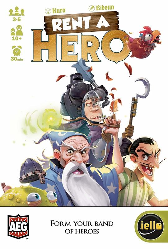 Rent-A-Hero - Card Game