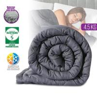 Cuddle Comfort Weighted Blanket Grey (4.5kg)