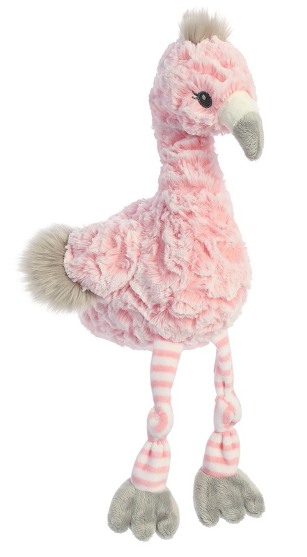 Aurora: Flora Flamingo - Ebba Plush