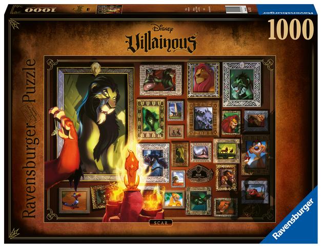 Ravensburger: 1,000 Piece Puzzle - Villainous: Scar