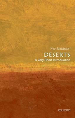 Deserts: A Very Short Introduction by Nick Middleton image