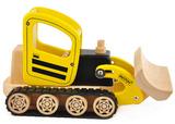 Wooden Bulldozer