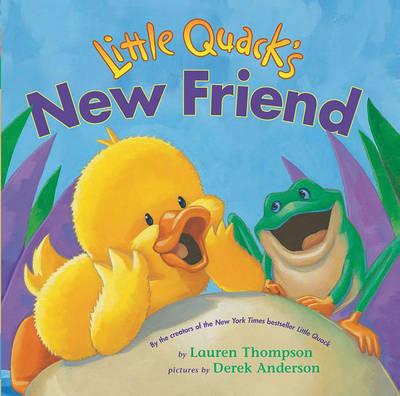Little Quack's New Friend by Thompson