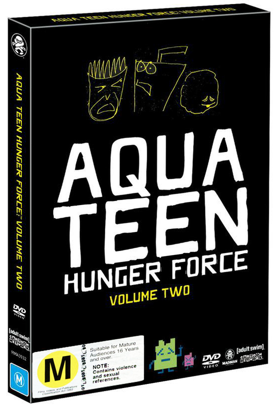 Aqua Teen Hunger Force - Volume 2 on DVD