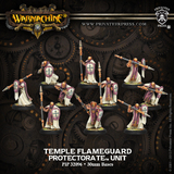 Warmachine: Protectorate of Menoth Temple Flameguard Unit