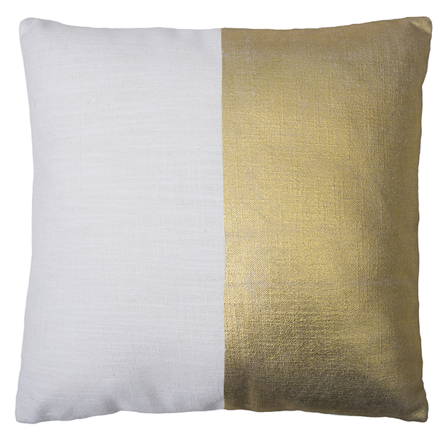 Bambury Block Cushion (Gold)