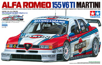 Tamiya 1/24 Alfa Romeo V6 T1 Martini - Model Kit