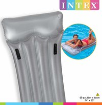 Intex: Deluxe Float Mat - Grey