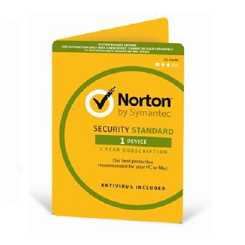 Norton Security Standard OEM 1 Device 1 Year CD Media
