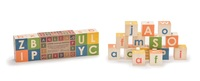 Uncle Goose: Upper & Lower Case - ABC Block Set (14pc)