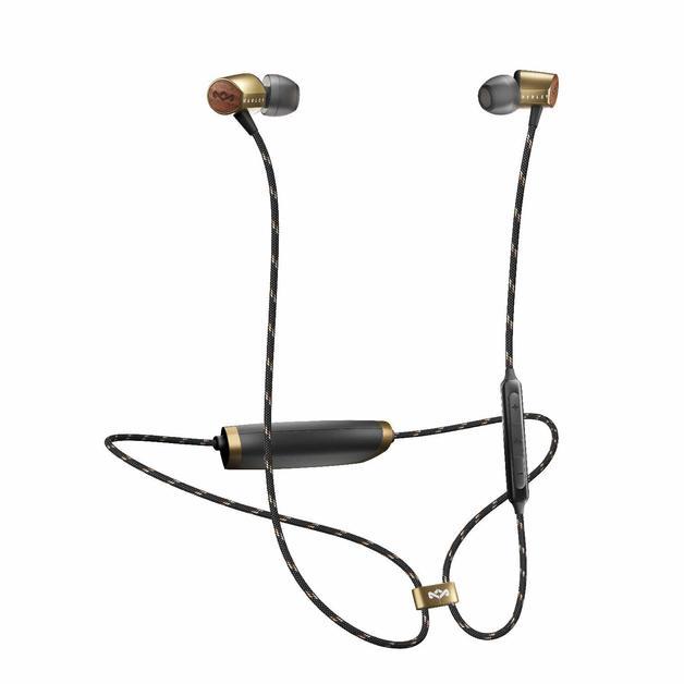 Marley: Uplift 2 Wireless In-Ear Headphones - Brass