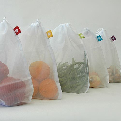 Mesh Produce Bags - Set of 5 image