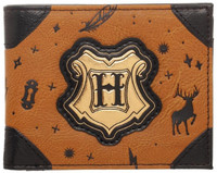 Harry Potter Bifold Wallet Brown