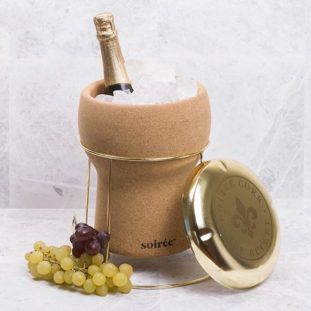 Bottle Cork Ice Bucket