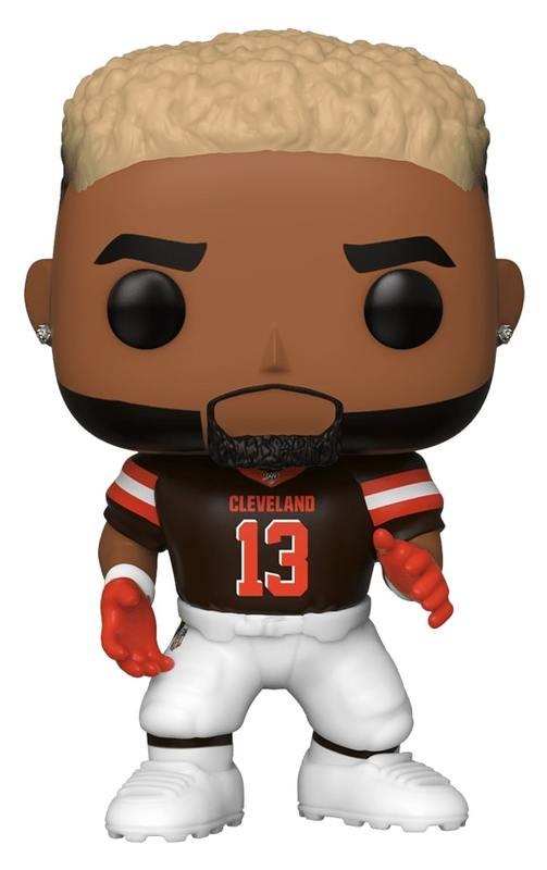 NFL: Browns - Odell Beckham Jr (Home Jersey) Pop! Vinyl Figure