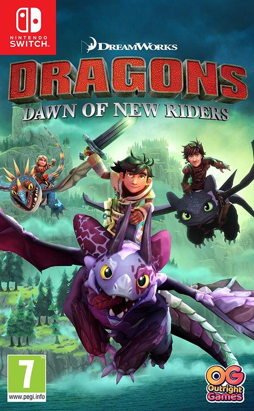 Dragons Dawn of New Riders for Switch