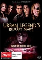 Urban Legends 3: Bloody Mary on DVD