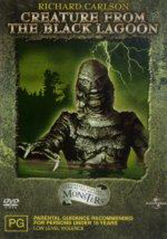 Creature from the Black Lagoon on DVD image