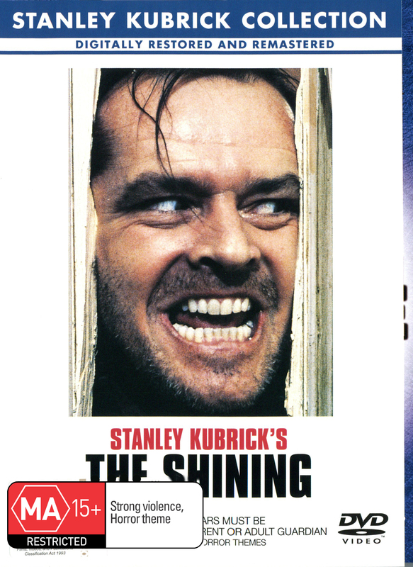 The Shining on DVD