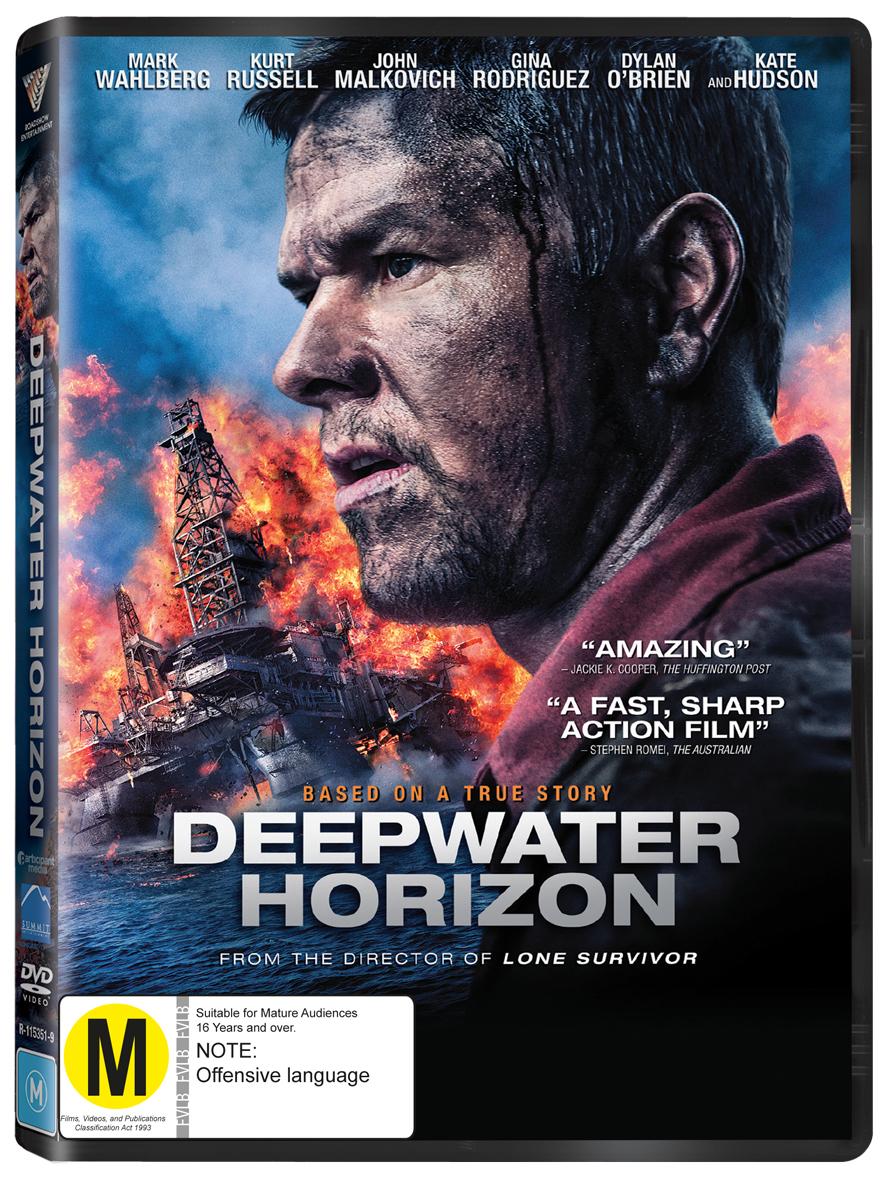 Deepwater Horizon on DVD image