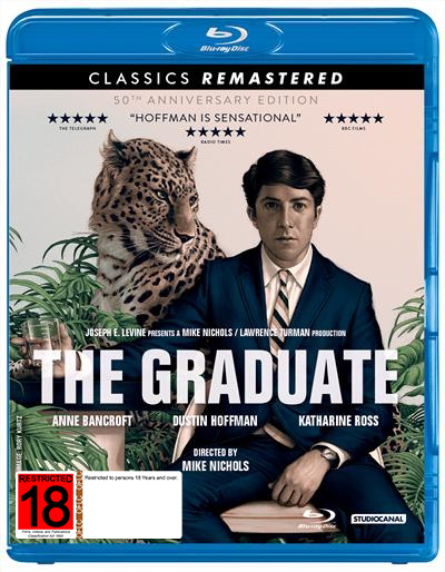 The Graduate (50th Anniversary Edition) on Blu-ray