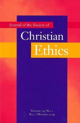 Journal of the Society of Christian Ethics image