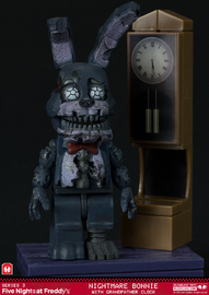 Five Nights at Freddy's - Grandfather Clock Micro Construction Set