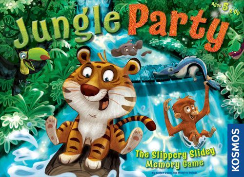 Jungle Party - The Slippery Slidey Memory Game