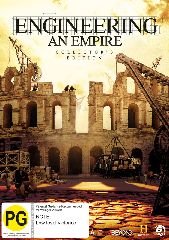 Engineering an Empire Collector's Edition on DVD