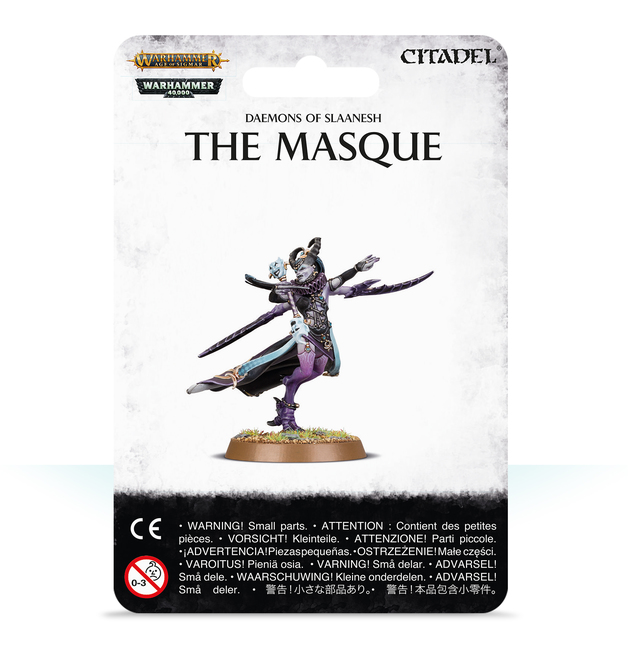 Warhammer Age of Sigmar: Daemon of Slaanesh - The Masque