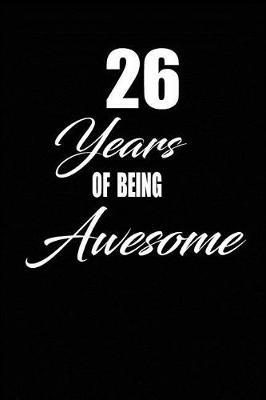 26 years of being awesome by Nabuti Publishing