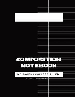 College Ruled Composition Notebook by Nadine Pitt image