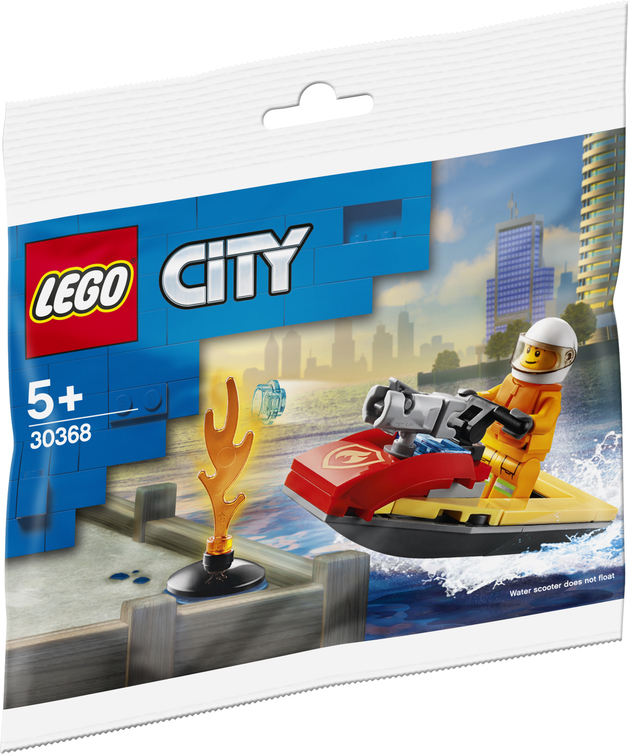Lego: Fire Rescue Water Scooter