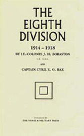The Eighth Division in War 1914-1918 by J.H. Boraston image