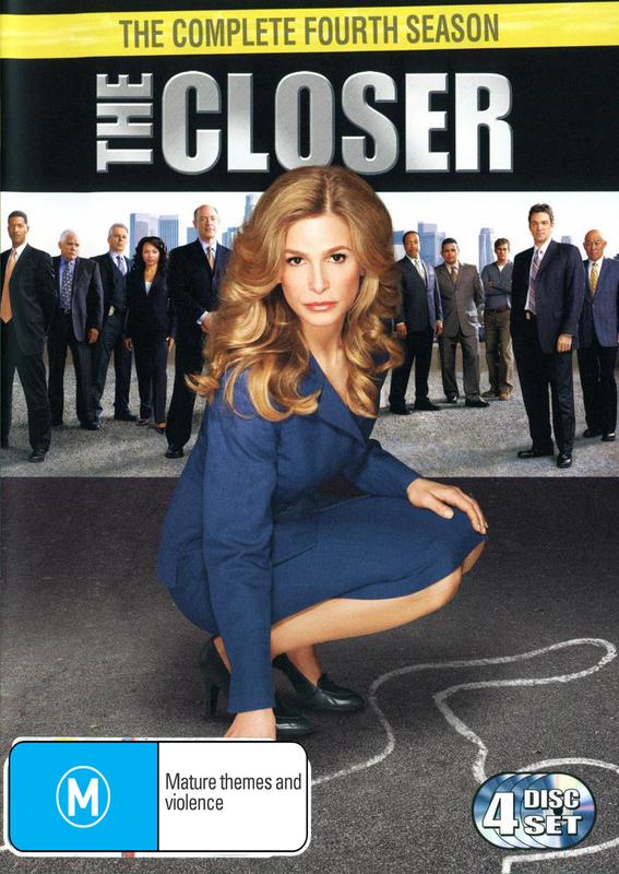 The Closer - Season 4 on DVD
