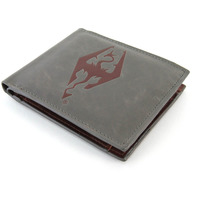 Skyrim Faux Leather Wallet - Dragonborn