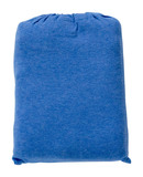 Babu Organic Cot Fitted Sheet (Summer Blue)