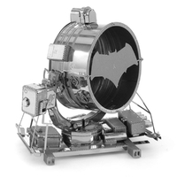 Metal Earth: Batman V Superman Bat-signal - Model Kit image