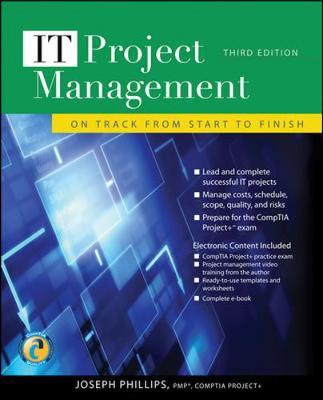 IT Project Management: On Track from Start to Finish by Joseph Phillips image