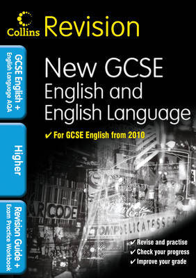 GCSE English & English Language for AQA: Higher by Keith Brindle image