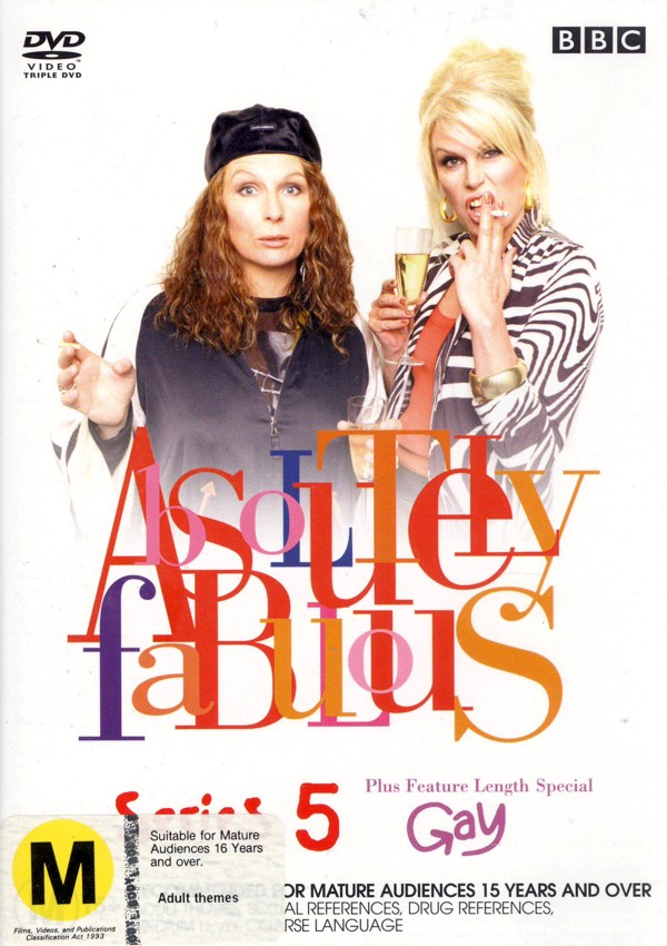 Absolutely Fabulous Series 5 (3 Disc Box Set) on DVD image