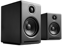 Audioengine: 2+ Powered Desktop Speakers (Pair) - Satin Black