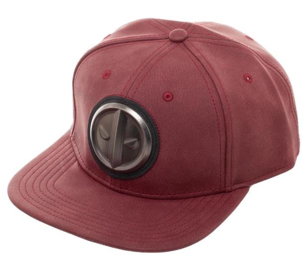 5c6557a68 Deadpool: Metal Logo - Distressed Snapback Cap | at Mighty Ape NZ
