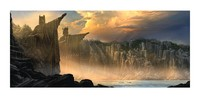 Lord of the Rings - The Argonath: Pillars of the Kings 23'' Art Print