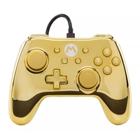 Nintendo Switch Wired iConic Controller - Chrome Mario for Switch