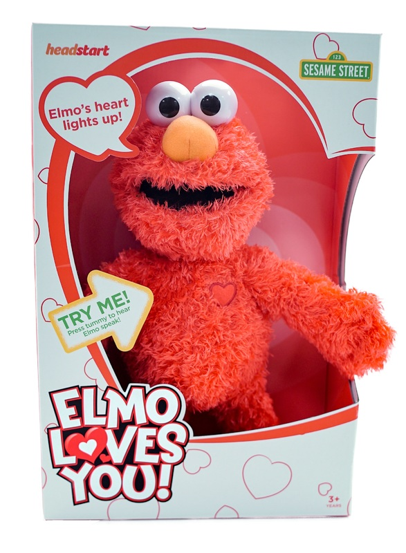 Sesame Street: Elmo Loves You - Talking Plush