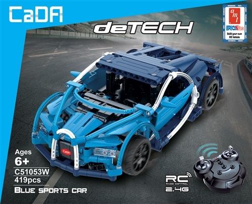 AMT: Brick Kits R/C Blue Sports Car