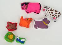 Seven Bean Filled Animals