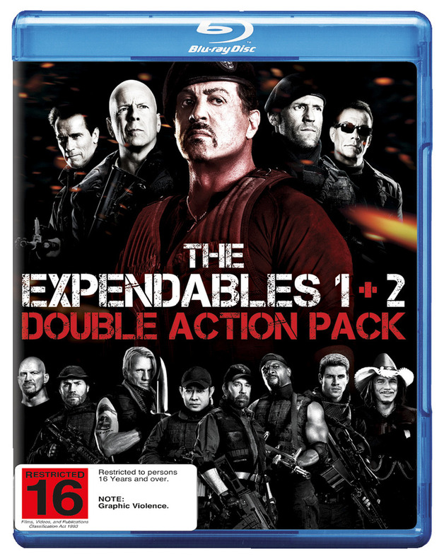 The Expendables 1 & 2 on Blu-ray
