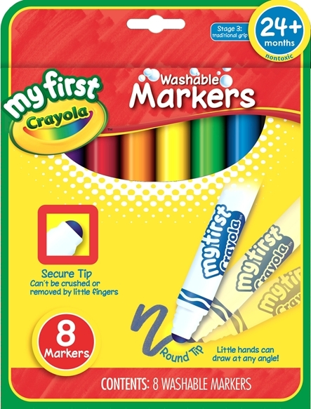 Crayola: My First Washable Markers image